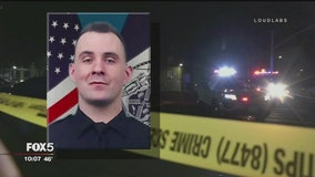 NYPD releases dramatic body camera footage of shooting that killed officer, suspect