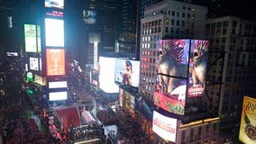 Science teachers, students get Times Square New Year's stage