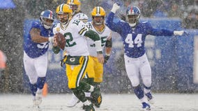 Rodgers throws 4 TDs, Packers beat skidding Giants 31-13