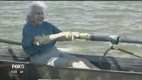 100-year-old rower says she has no plans to stop