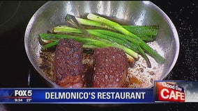 Snow-aged steak from Delmonico's Restaurant
