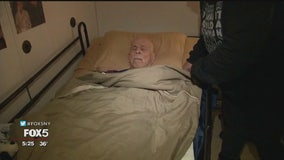 NYCHA hospice patient living without heat