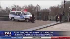 Suspect in deadly Barnard student stabbing flees