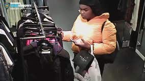 2 women wanted in violent Barney's robbery