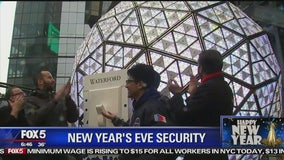 Last-minute New Year's Eve Preparations