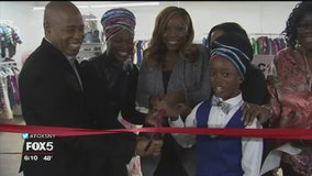 11-year-old entrepreneur opens thrift store in Brooklyn