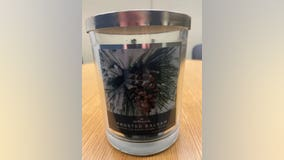 Hallmark recalls holiday candle