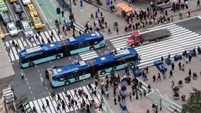Plans move forward to electrify New York City's bus fleet