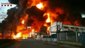 Fire destroys chemical recycling plant in Spain