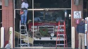 Fire destroys Long Island firehouse, trucks