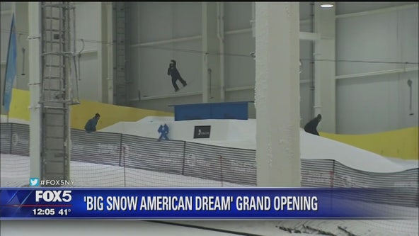 The Big Snow Opens at American Dream
