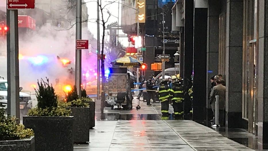 Times Square Death