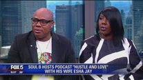 Soul B and Esha Jay on Hustle and Love podcast