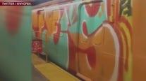 Subway graffiti comeback