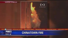 FDNY on the scene of 3-alarm fire in Chinatown