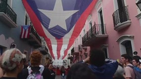 Protesters demand Puerto Rico governor's resignation