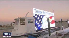 Treasure Island man ticketed for displaying sign thanking veterans