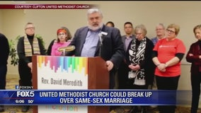 United Methodist Church could break up over same-sex marriage
