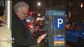 NYC parking meter problems