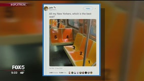 New Yorkers debate which subway seat is the best