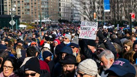 NYC solidarity march against anti-Semitism, acts of hate