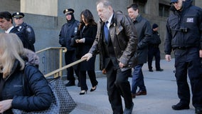 Jury of 7 men, 5 women selected for Weinstein rape trial