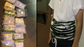 Border Patrol agents in California arrest boy, 14, with drugs strapped to body
