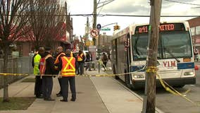 Woman struck, killed by MTA bus she had just ridden