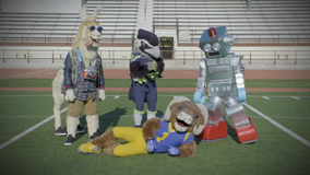 'Masked Singer' training camp: Seahawks, Rams mascots show season 3 contestants some moves