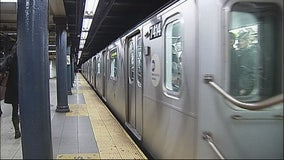 Man found dead on subway train
