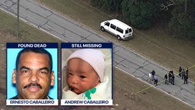 Amber Alert: Father found dead, baby still missing; witness reports seeing blonde female in van