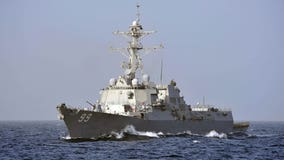 US warship 'aggressively approached' by Russian Navy vessel in Arabian Sea, video shows