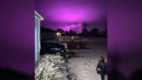 Sky above Arizona town glowed purple due to nearby marijuana farm: report