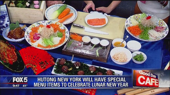 Chinese new year dishes from Hutong Restaurant