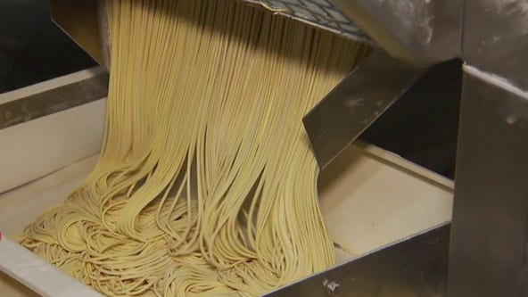 Many Chinese food ingredients are made in a huge plant in Brooklyn