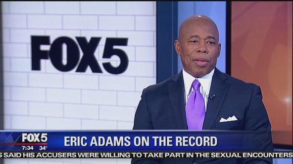 Eric Adams on the record