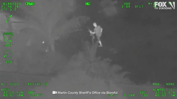 Sheriff: Man aimed AR-15-mounted laser at police helicopter