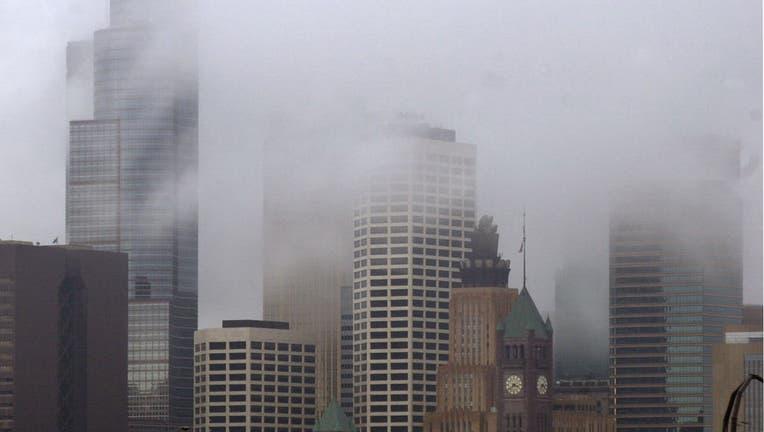 Minneapolis clouds