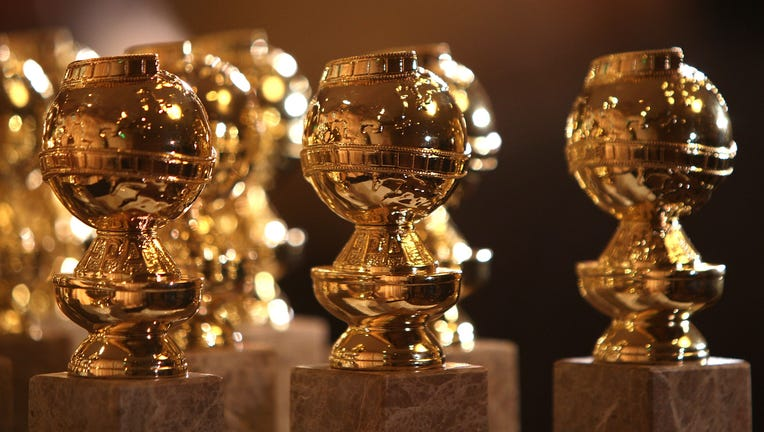 FILE: The new 2009 Golden Globe statuettes are on display during an unveiling by the Hollywood Foreign Press Association at the Beverly Hilton Hotel on January 6, 2009.