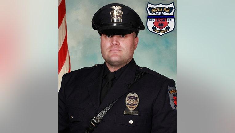 Patrolman Edward Nortrup in uniform