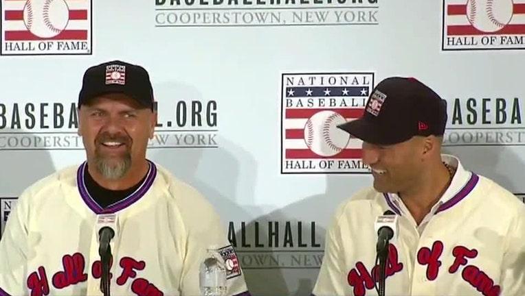 Larry Walker and Derek Jeter
