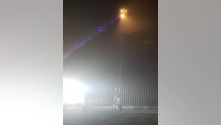 Border wall rescue