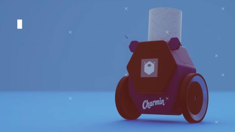 Carmin toilet paper robot