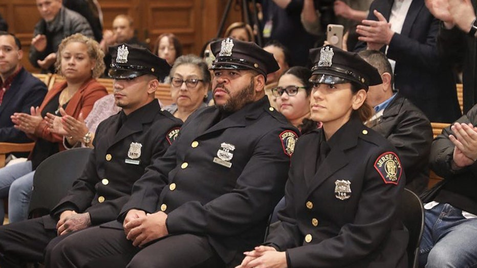 3 police officers honored