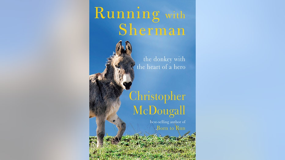 Book cover to Running with Sherman