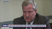 Exclusive: Mayor Bill de Blasio on stores closing
