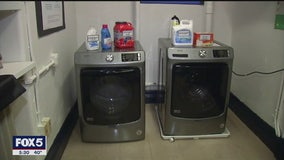 Elementary school in Washington Heights providing laundry service to students