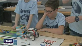 Long Island students help disabled classmate compete with robotics team
