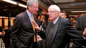 De Blasio endorses former 2020 rival Sanders for president