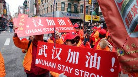 NYC Lunar New Year parade showcases support for China, Wuhan